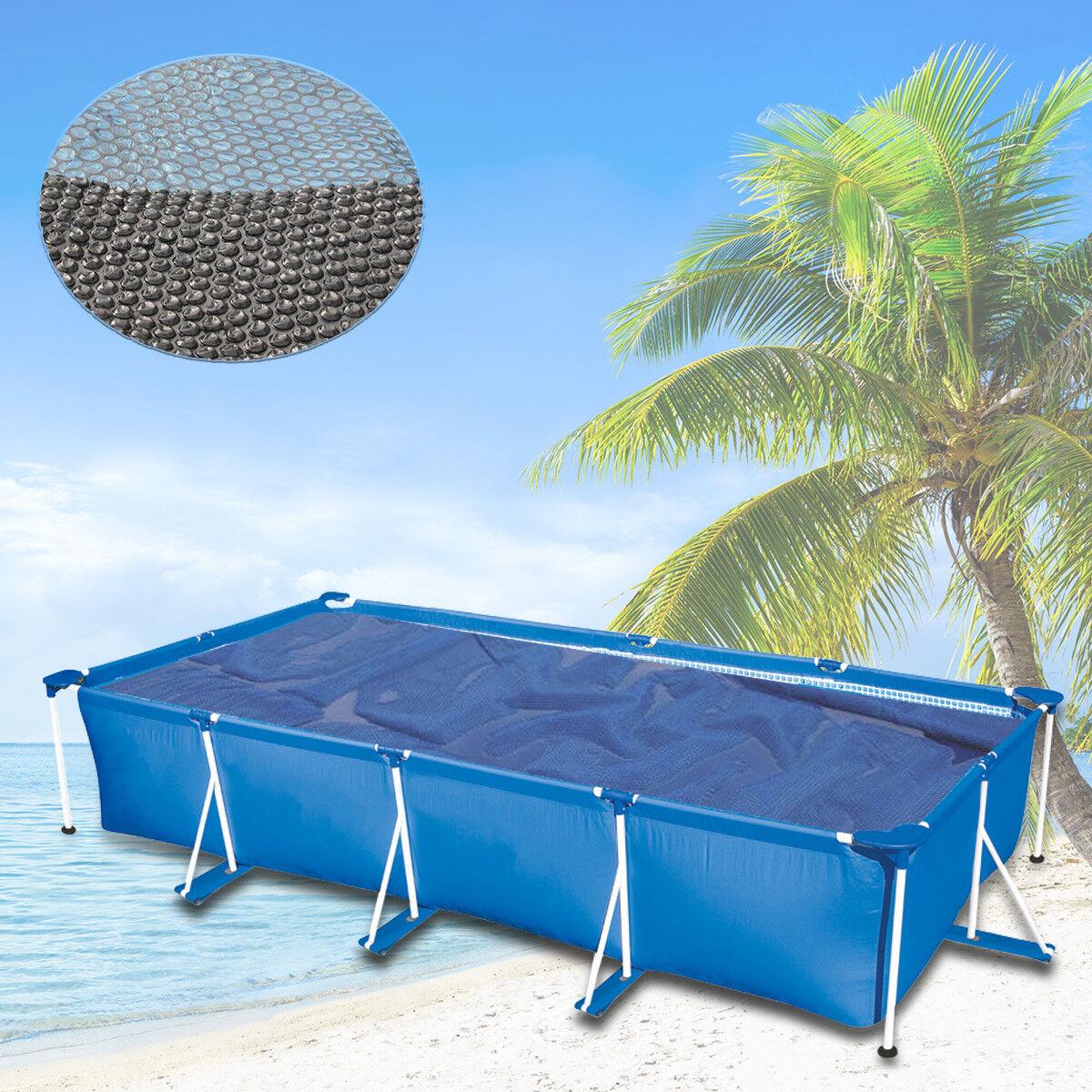 260x160 Warmeplane Solarfolie Solarplane Solarheizung Schwarz Blau Pool Heizung Ebay