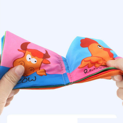 Kid Baby Intelligence development Cloth Bed Cognize Book Educational Toy UK