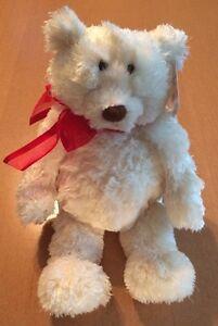 Gund White Bear Named Chardonnay # 14210