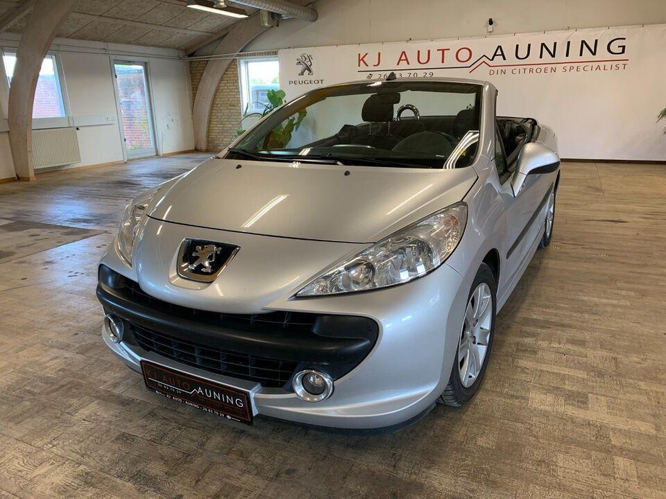 Peugeot 207 1,6 CC Benzin modelår 2007 km 151000 Sølvmetal