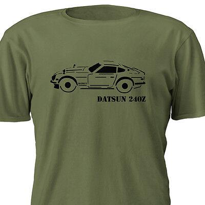 Datsun Outline T-Shirt Multiple Color Options 240z 260z 280z