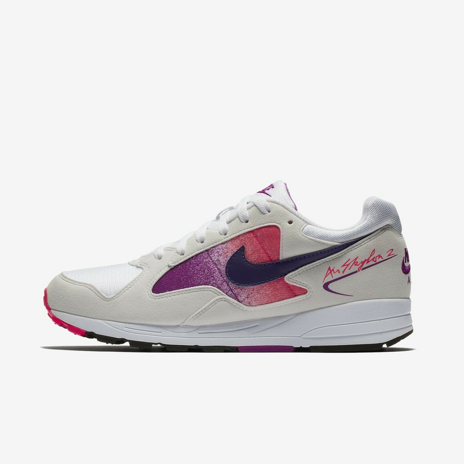 newest 94fcf 6171a NIKE AIR SKYLON II AO1551-103 blanc COURT PURPLE SOLAR rouge 2