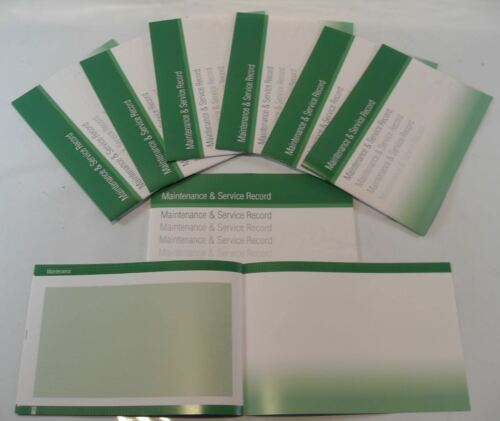 Generic Service History Book Suitable For MX-5 121 323 626 Premacy Lantis Green