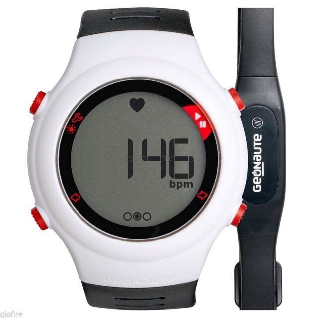 a8ffd428d1863d Geonaute ONRHYTHM 110 Running Heart Rate Monitor Watch Black White ...