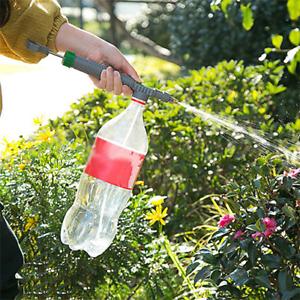 High Pressure Air Pump Manual Sprayer Adjustable Tool Drink Bottle Head Nozzle