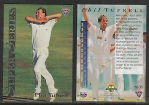 PHIL-TUFNELL-England-1994-FUTERA-ASHES-SUPER-SERIES-CRICKET-CARD-SS35