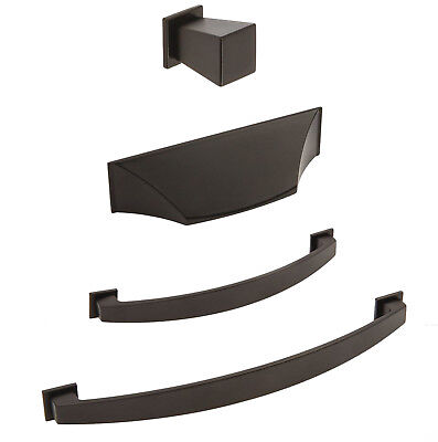 Matt Black Pull Handles /& Drawer Knob for Kitchen Cabinet Cupboards Skyler Range
