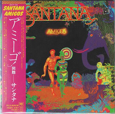 SANTANA 1976 AMIGOS Japan Mini LP CD OBI MHCP-1006 GATEFOLD Limited Edition 2006