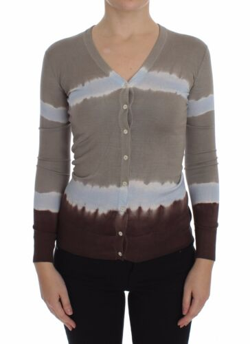 Pullover Sweater Silk Dolce Ny S Xs Cardigan Beige Gabbana Blue 560 Top 8awqFTR