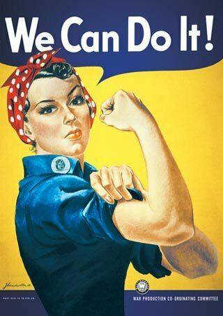 Poster Howard Miller We Can Do It 61 x 91.5cm