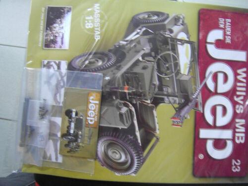 Bauen Sie den Jeep Willys MB  U.S  Army 1:8 Heft Ausgabe 5-83