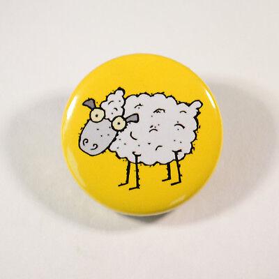 Sheep Family Black Sheep Novelty Humorous Fun Cute Joke 25mm Button Pin Badge
