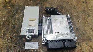 050-BMW-E60-E61-525d-Motorsteuergeraet-7795587-7795553-M57-DDE-EWS-Schluessel-Set