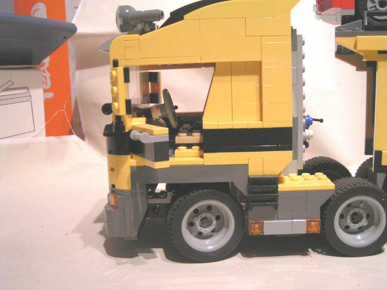 LEGO CITY CITY CITY  -  CAMION TRANSPORT DE VOITURES  (ref 6753) + 1 FERRARI F1 EN CADEAU 249884