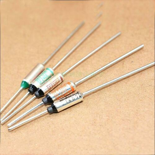 Details about  /100pcs  SF113E Microtemp Thermal Fuse 113℃ 235.4℉ Cutoff 250V 10A