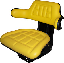 Yellow Trac Seats Suspension Seat Replaces Part Wf222yl For John Deere Tractor