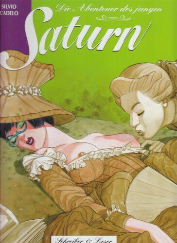 Die Abenteuer des jungen Saturn Hardcover Comic von Silvio Cadelo in Topzustand