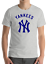 New-York-YANKEES-gray-T-Shirt-Graphic-Cotton-Men-Adult-Logo-Jersey-NY-S-2XL thumbnail 1