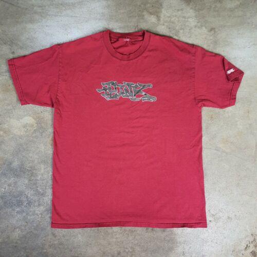 Vintage 90s Think Skateboards Shirt Birdhouse Hook