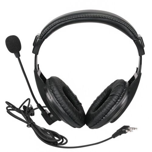 2*2pin Headset earpiece for Retevis H777 RT22 RT23 Kenwood BAOFENG 2Way Radio US