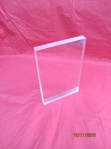 Dom Perignon Genuine Crystal Clear Acrylic Dom Perignon menu holder.