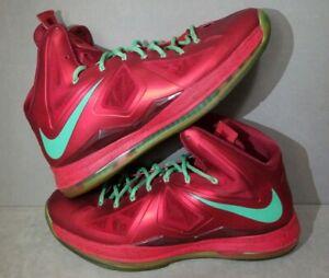 Lebron Christmas 10.Details About Nike Lebron 10 X Christmas Xmas Size 15 Men S 541100 600