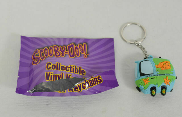 Scooby-Doo Collectible Vinyl Key Chains Set Of 2