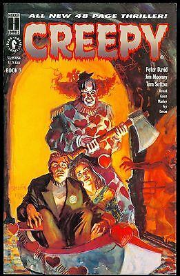 Dark Horse Comics Graphic Novel 1992 Creepy The Limited Series #3 Harris