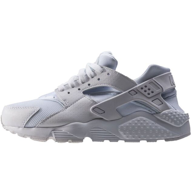 premium selection 3e565 99a5e Nike Huarache Run Size 7 Youth 7y Triple White Pure Platinum 654275-110