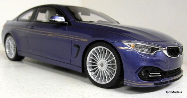 GT Spirit 1/18 Scale GT090 BMW Alpina B4 Biturbo met blue Resin cast Model Car