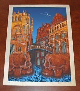 Emek-MARSians-Art-Print-on-Birch-Wood-Serigraph-From-Mars-Volta-Poster-S-50