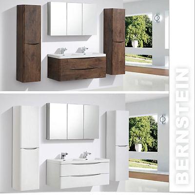badmbelset doppelwaschbecken waschtisch 120cm badezimmermbel led lichtspiegel - Luxus Hausrenovierung Doppel Waschbecken Design