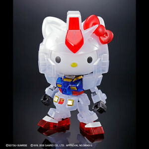 SD EX-STANDARD Imported SHIPPED FAST! Sanrio Hello Kitty // RX-78-2 GUNDAM