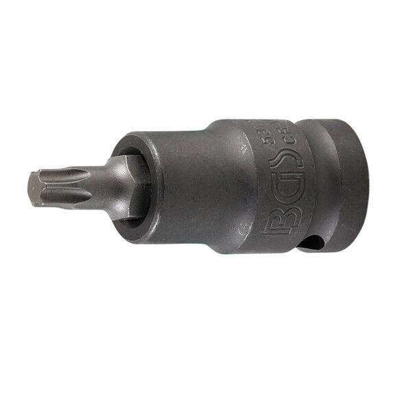BGS Kraft Biteinsatz T-Profil Torx 1 2 2 2  Schlagnuss Schlagschrauber Bits T20-T55 | Viele Sorten  | Die Königin Der Qualität  | Geeignet für Farbe  | Verbraucher zuerst  1dfc2e