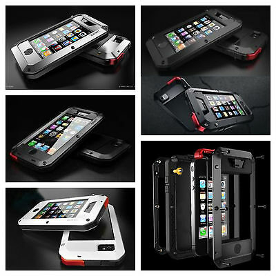 Iphone 5/5S Metal Otter Extreme Shockproof  Hybrid Case Water Resistant New Box