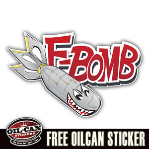 F-bomb-military-racing-sticker-decal-vw-euro-hotrod-240mm-x-155mm-XTRA-LARGE