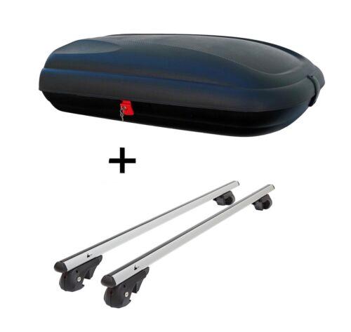 Coffre de toit vdpba 320 L carbonlook Alu Rampe porteur vdp004xl pour FORD C-Max à partir de 10
