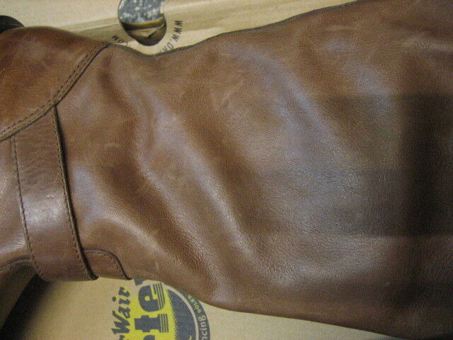 Mercancía tipo B Dr Martens 14666201b slip on stiefe Rowena dark Marrón 14666201b Martens 7c3029