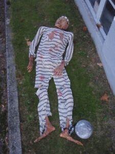 Mumifizierte Leiche Vergessener Strafling Requisite Halloween Horror Prop Ebay
