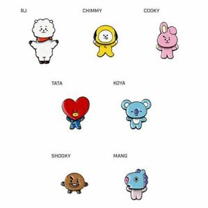 OFFICIALLY LICENSED AUTHENTIC BT21 | SWING PIN BADGE