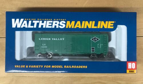 HO Walthers 910-1168 40' AAR Modernized 1948 Boxcar Lehigh Valley 66260