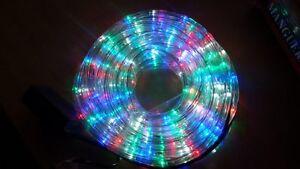 f7664897dab La imagen se está cargando MANGUERA-LED-LUZ-NAVIDAD-FIESTA-COLORES-RGB-O-