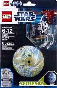 LEGO-Star-Wars-9679-AT-ST-Walker-Driver-Forest-Moon-of-Endor-Planet-Kugel
