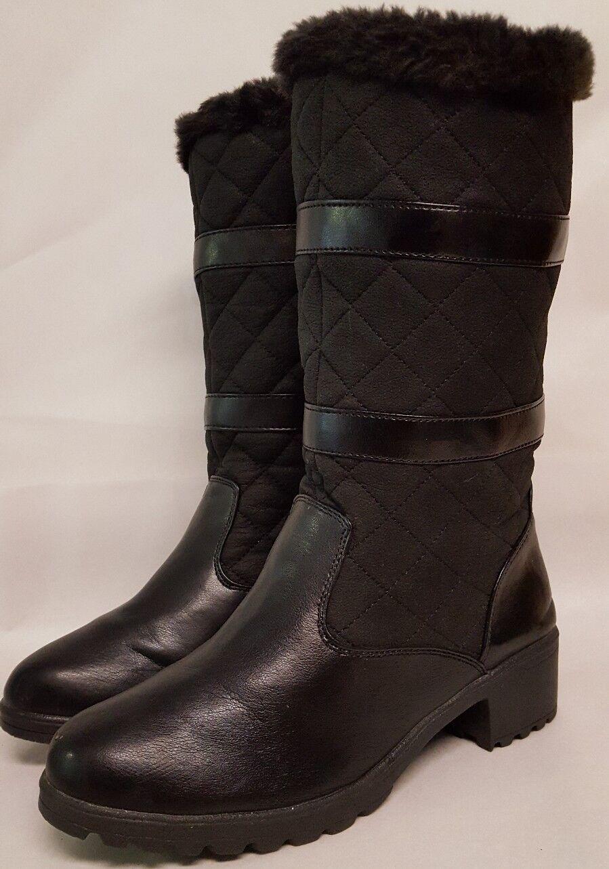Weathermates By KHUMBU Winter Warm Fur Black Boots US 9 M