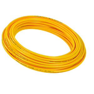 Details about Hard High-Pressure Yellow Tube Air/Water Inner Dia 3/8