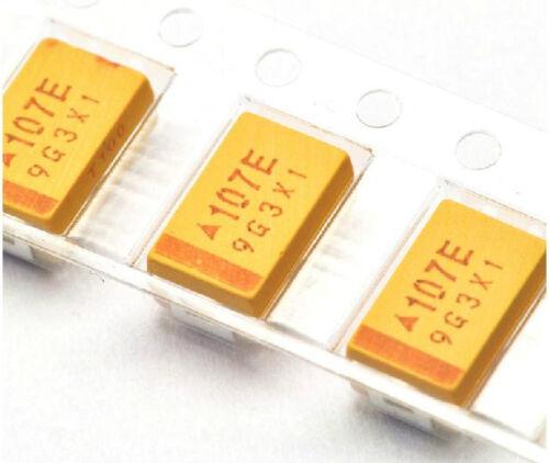 10pcs  Tantalum Capacitors 7343 25V 100uF Type D 20/% Surface Mount SMD DIY New