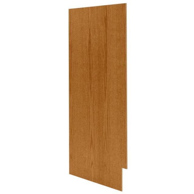 Kitchen Cabinet End Panel (2-Piece) Medium Oak Matching ...