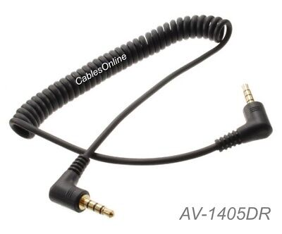 """Stereo TRS Male to Male Audio Cable Premium 3.5mm AV-1xxPH 1//8/"""""""