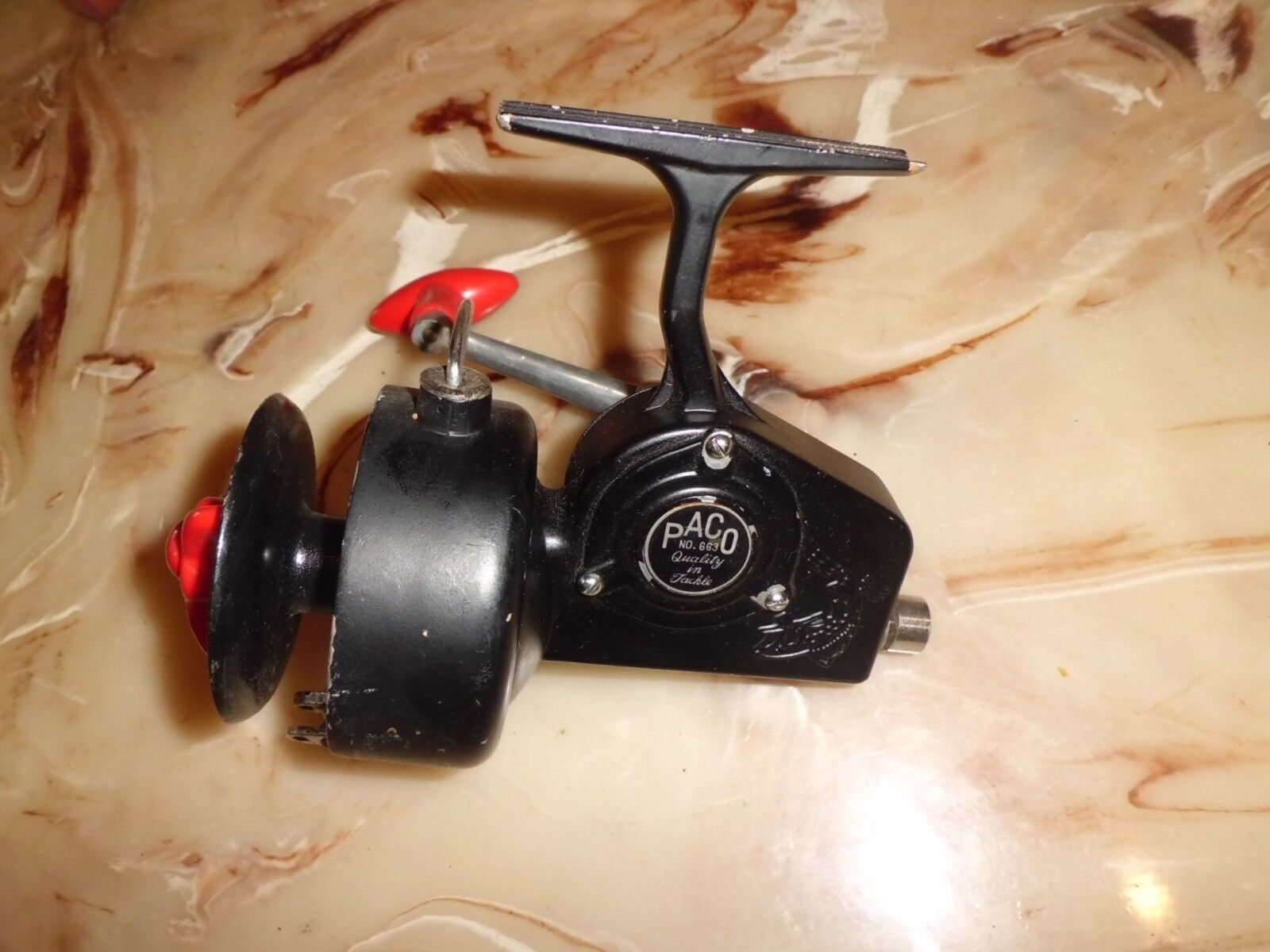 Vintage PACO 663 Surf Boat Spinning Reel made in Japan