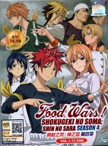 when does food wars season 4 come out